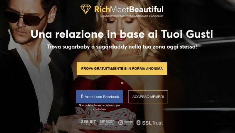 rich meet beautiful home page